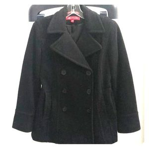 AK Anne Klein double breasted pea coat